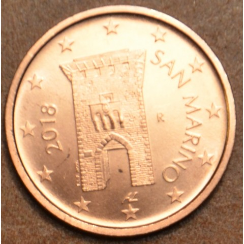 2 cent San Marino 2018 - New design (UNC)
