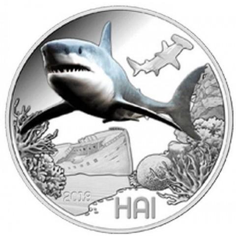 3 Euro Austria 2018 Shark (UNC)