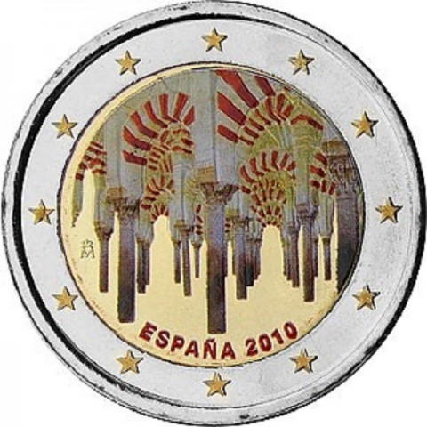 2 Euro Spain 2010 - UNESCO: The historic town center of Cordoba (UNC)