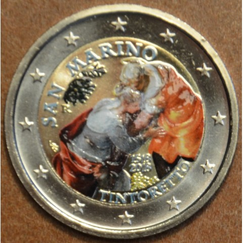 2 Euro San Marino 2018 - Tintoretto (colored UNC)