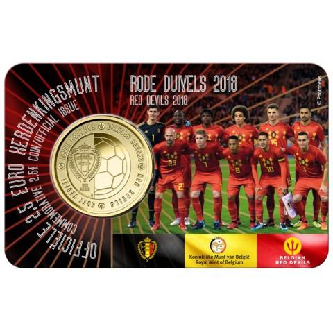 2,5 Euro Belgium 2018 Red devils (BU)