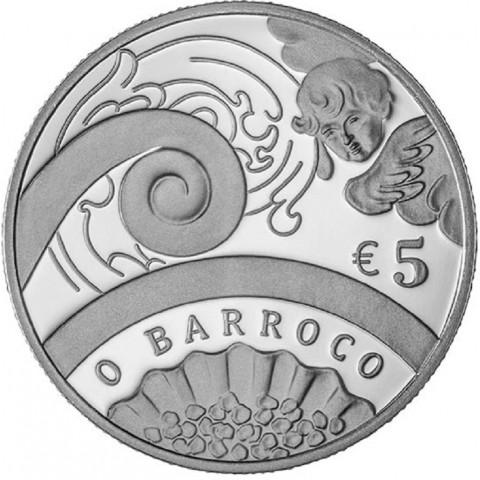 5 Euro Portugal 2018 - Barroco (UNC)