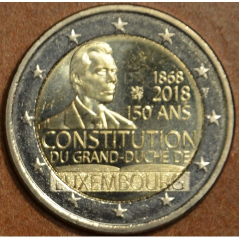 2 Euro Luxembourg 2018 - The 150th anniversary of the Luxembourg Constitution (UNC)