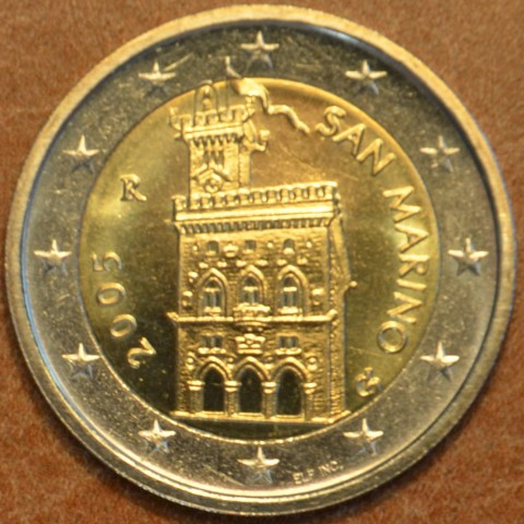 2 Euro San Marino 2005 - Government House (UNC)