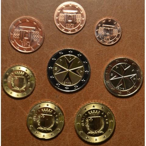 Set of 8 eurocoins Malta 2018 (UNC)