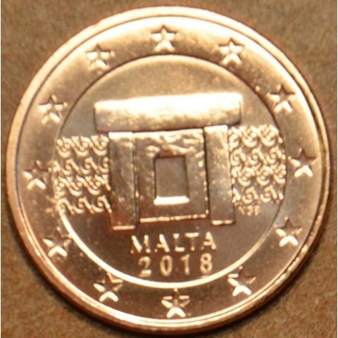 2 cent Malta 2018 (UNC)