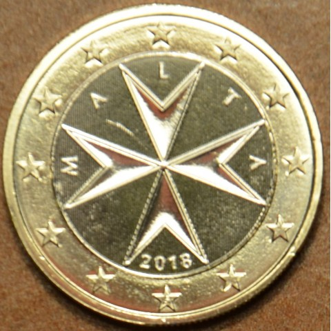 1 Euro Malta 2018 (UNC)