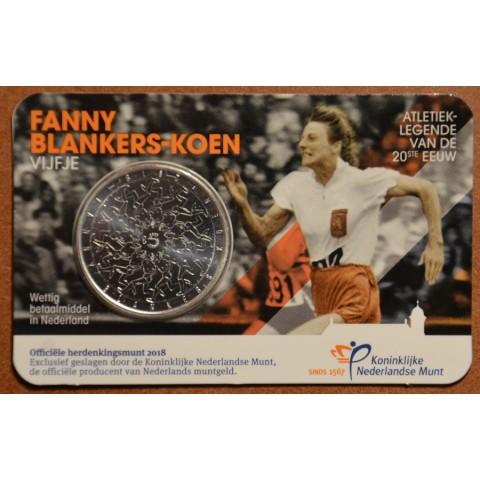5 Euro Netherlands 2018 - Fanny Blankers Koen (UNC)