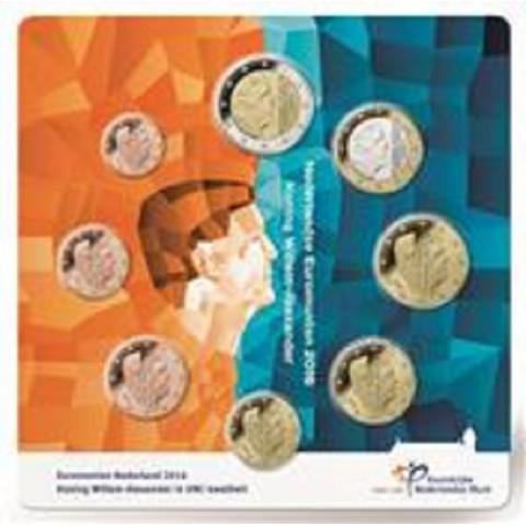 Set of 8 coins Netherlands 2016 (BU)