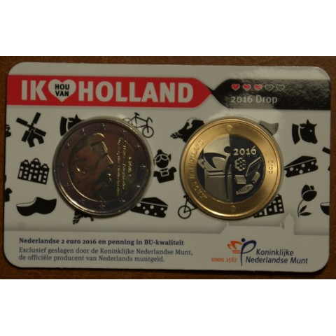 2 Euro Netherlands 2016 - Holland coin fair (BU)