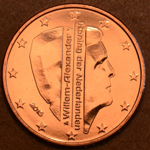 5 cent Netherlands 2015 Kees Bruinsma (UNC)