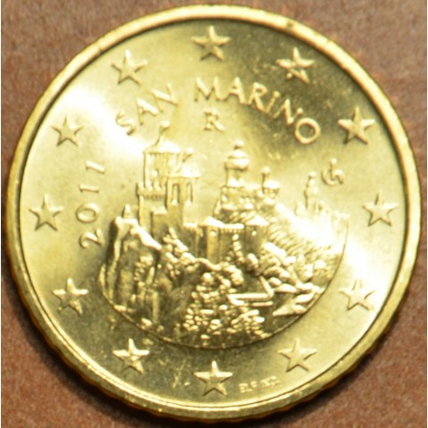 50 cent San Marino 2011 (UNC)