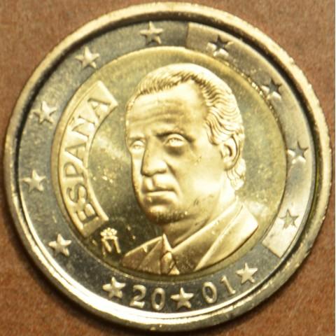 2 Euro Spain 2001 (UNC)