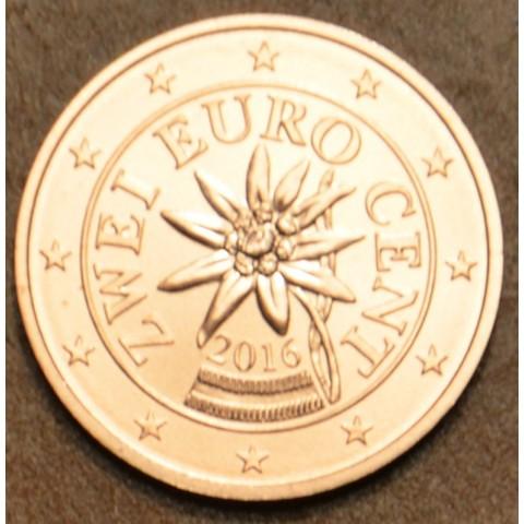 2 cent Austria 2016 (UNC)