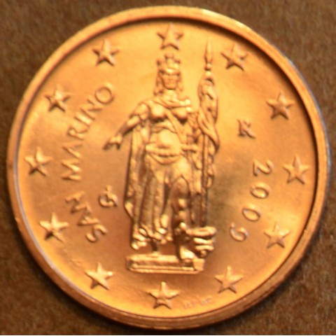 2 cent San Marino 2009 (UNC)