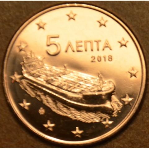 5 cent Greece 2018 (UNC)