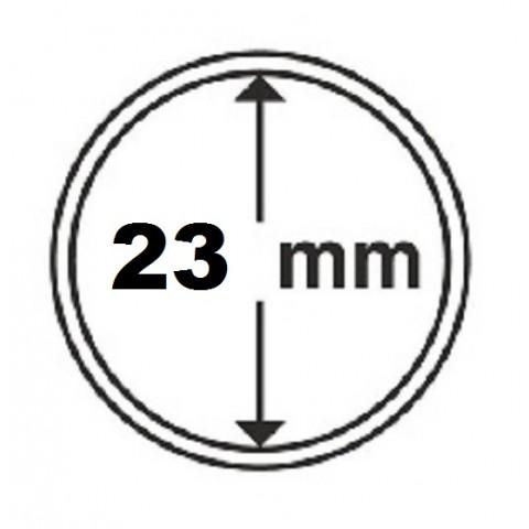 Leuchtturm capsula for 1 euro coin