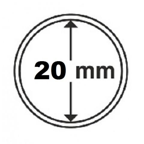 Leuchtturm capsula for 10 cent coin