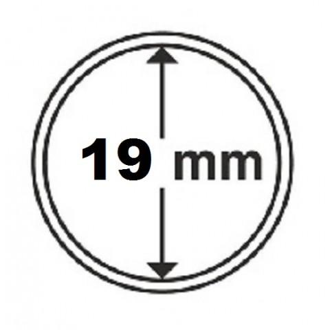 Leuchtturm capsula for 2 cent coin