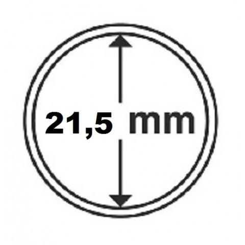 Leuchtturm capsula for 5 cent coin