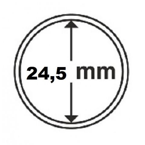 Leuchtturm capsula for 50 cent coin