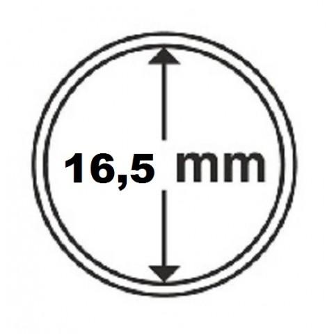 Leuchtturm capsula for 1 cent coin