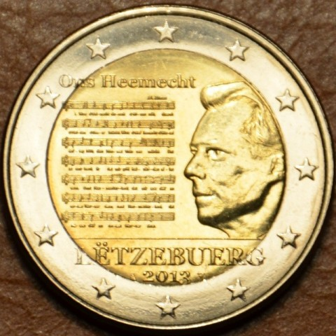 2 Euro Luxembourg 2013 - National Anthem (UNC)
