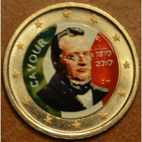 2 Euro Italy 2010 - 200th anniversary of birth of Camillo Benso III. (colored UNC)