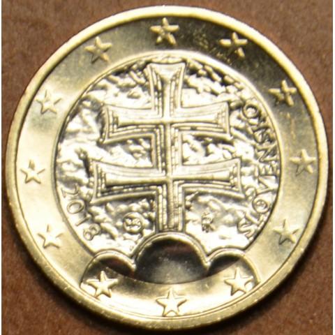 1 Euro Slovakia 2018 (UNC)