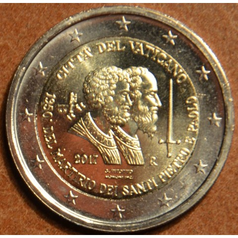 2 Euro Vatican 2017 - Saint Peter and Saint Paul (BU)