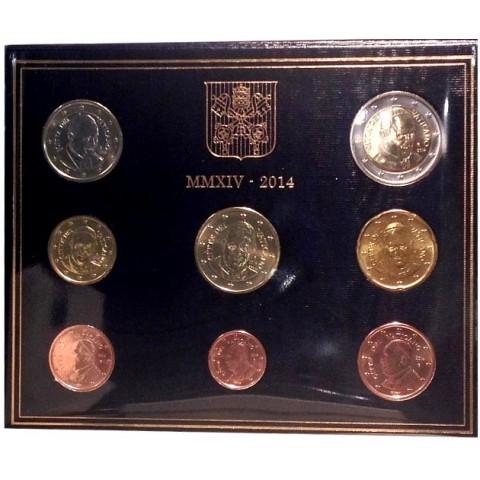 Set of 8 eurocoins Vatican 2014  (BU)