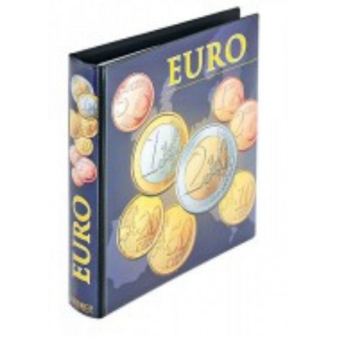 Lindner empty album for euro coins