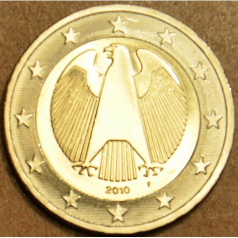 "2 Euro Germany ""F"" 2010 (UNC)"