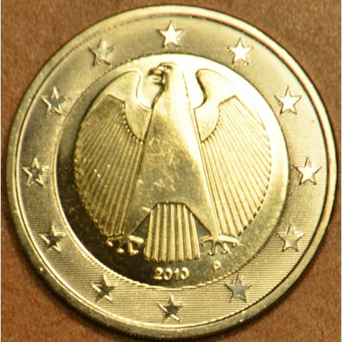 "2 Euro Germany ""D"" 2010 (UNC)"