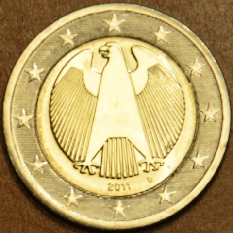 "2 Euro Germany ""D"" 2011 (UNC)"