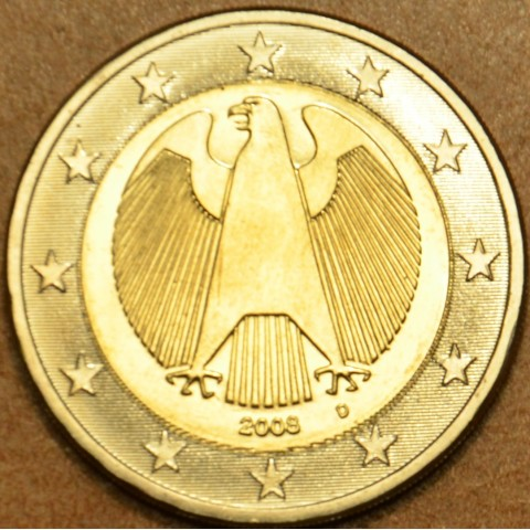 "2 Euro Germany ""D"" 2008 (UNC)"