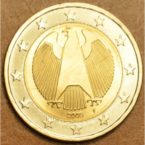 "2 Euro Germany ""F"" 2008 (UNC)"