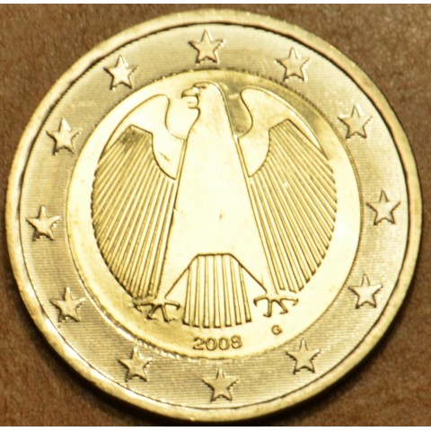 "2 Euro Germany ""G"" 2008 (UNC)"