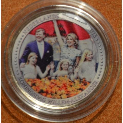 2 Euro Netherlands série Kingdom - Family (colored UNC)