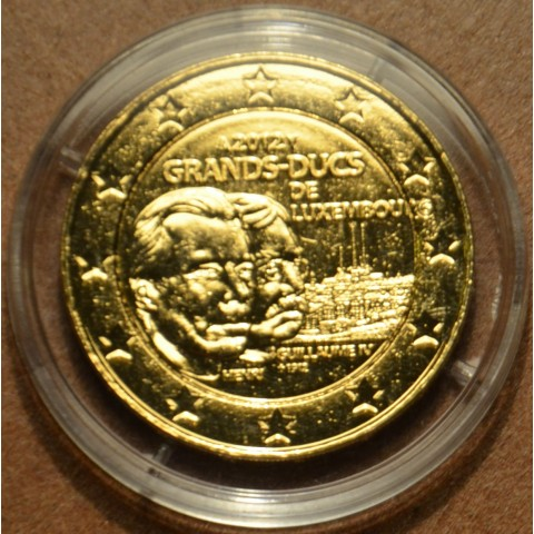 2 Euro Luxembourg 2012 -100th Anniversary of the death of the William IV. (gilded UNC)
