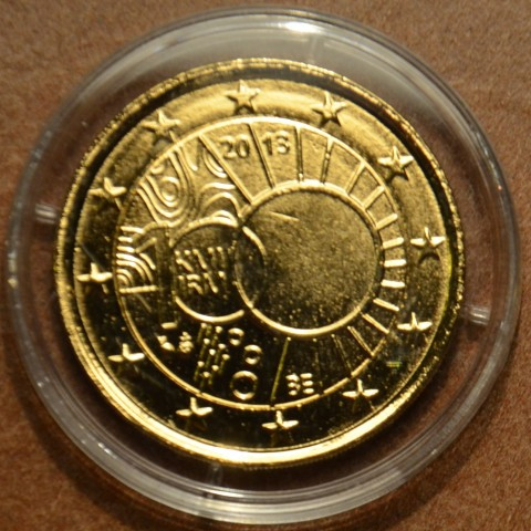 2 Euro Belgium 2013 - 100th anniversary of the Royal Meteorological Institute (gilded UNC)