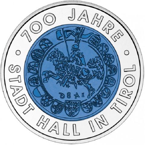 25 Euro Austria 2003 - City of hall in Tyrol (Niob)