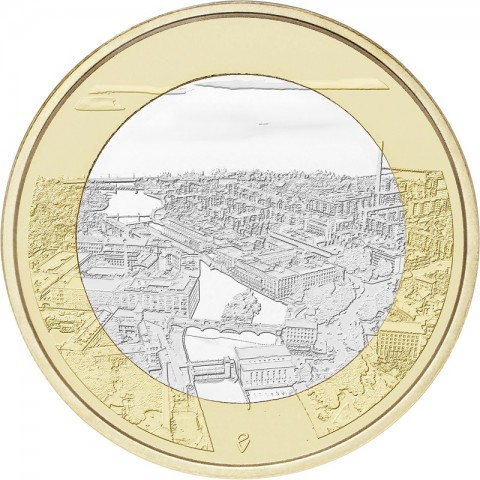 5 Euro Finland 2018 - Tammerkoski (UNC)