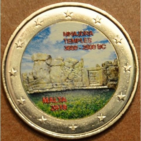 2 Euro Malta 2018 - Mnajdra II. (colored UNC)