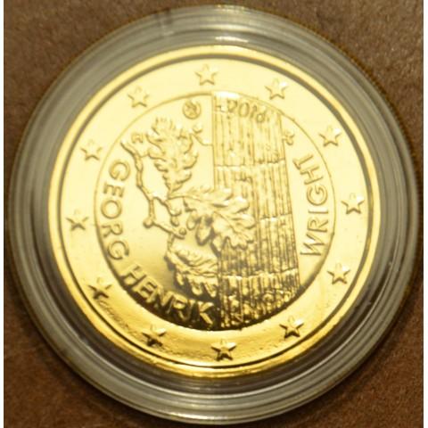 2 Euro Finland 2016 - George Henrik von Wright (gilded UNC)