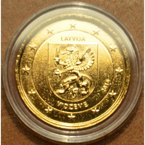 2 Euro Latvia 2016 - Vidzeme (gilded UNC)