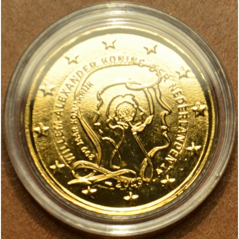 2 Euro Netherlands 2013 - 200 Years of Kingdom (gilded UNC)