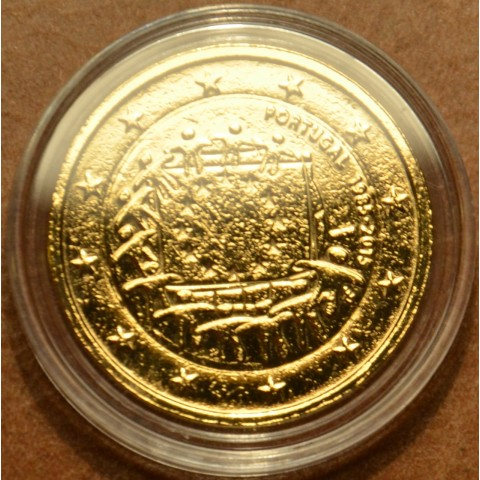2 Euro Portugal 2015 - 30 years of European flag (gilded UNC)