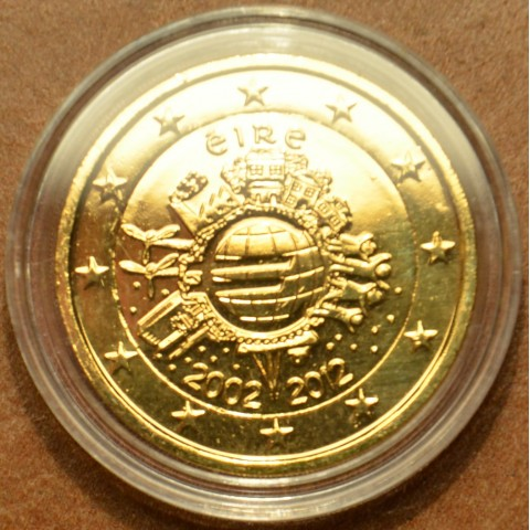 2 Euro Ireland 2012 - Ten years of Euro (gilded UNC)