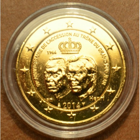 2 Euro Luxembourg 2014 - Grand Duke Jean Accession to the Throne (gilded UNC)